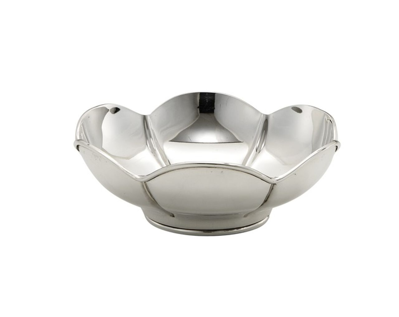 Ciotola argentata argento sheffield cm.6,5h diam.17