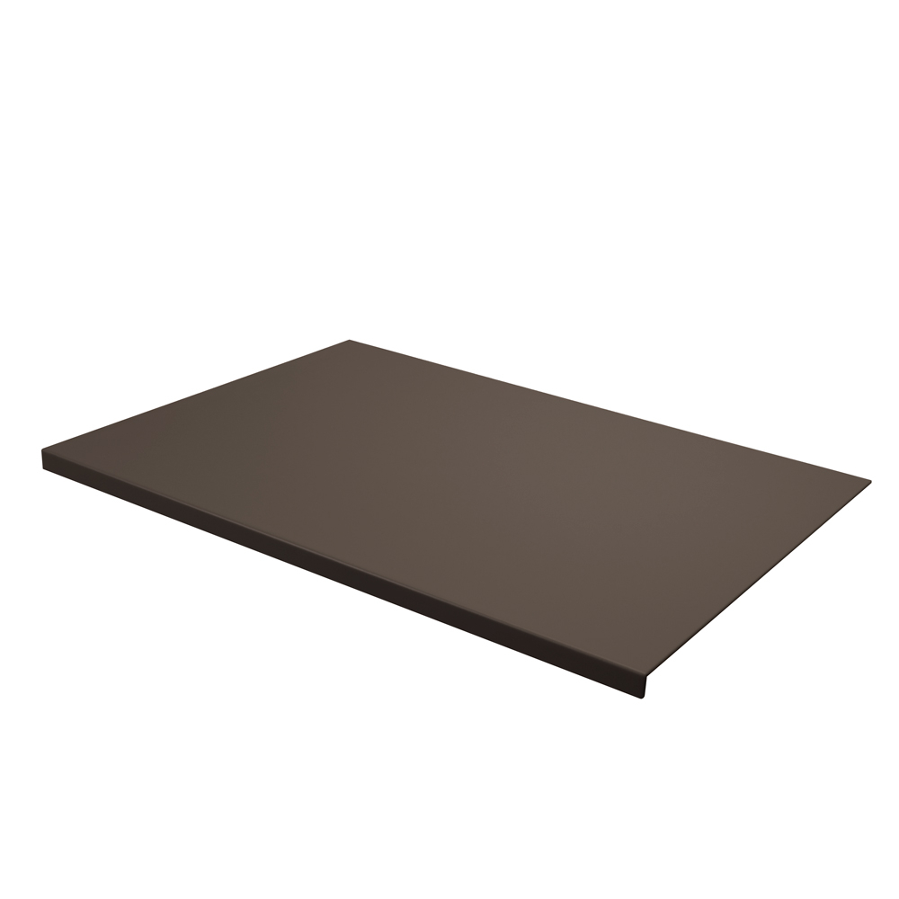 Desk Pad Talia Taupe Grey