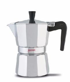 GIANNINI CAFFETTIERA IN ALLUMINIO NINA DA 1/2 (MEZZA) TAZZA 6480