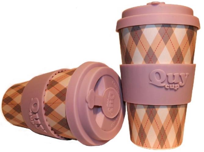 QUY cup MUG CON COPERCHIO SWEATER DIMENSIONI CM. 8,5 x 7 x 14 ALTEZZA BAMB40-011