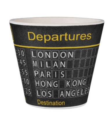 TAZZA CAFFE' DEPARTURES BAMB10-066
