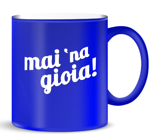 + FORTY MUG MAI NA' GIOIA TZ08-BL
