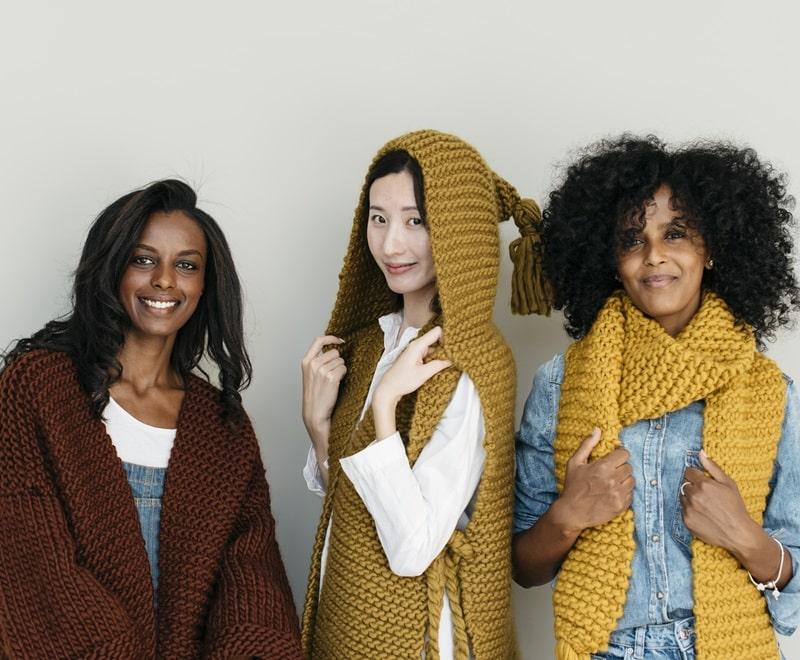 Bettaknit High Quality Wool And Cotton Yarns Knit Kits