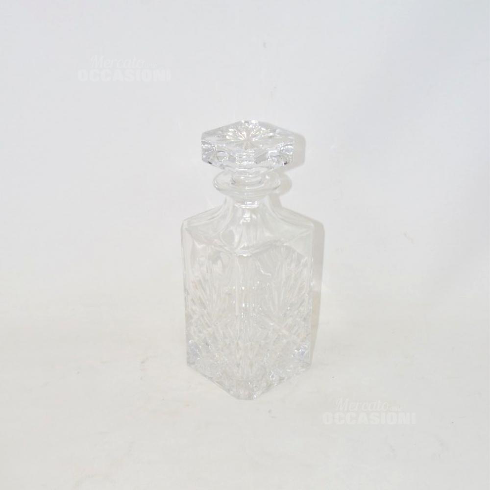 Bottiglia In Cristallo Con Tappo