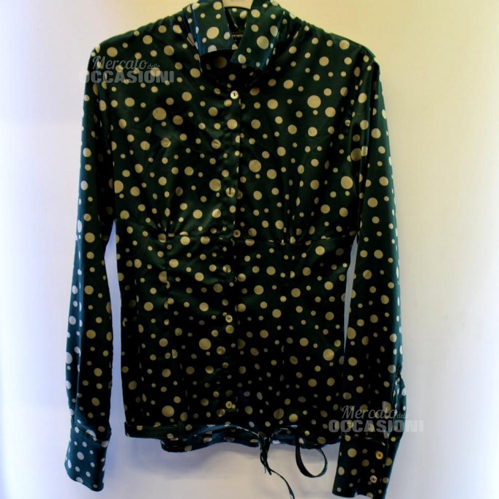 Camicia Donna Danny Rose Tg L Verde