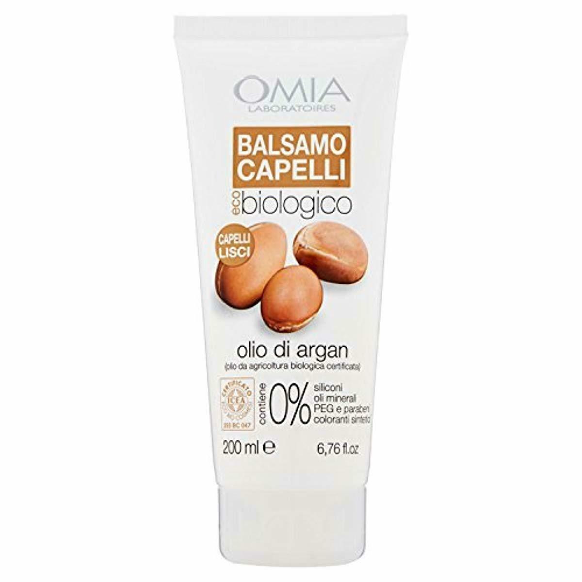 Balsamo Capelli Omia Olio di Argan 200 ml