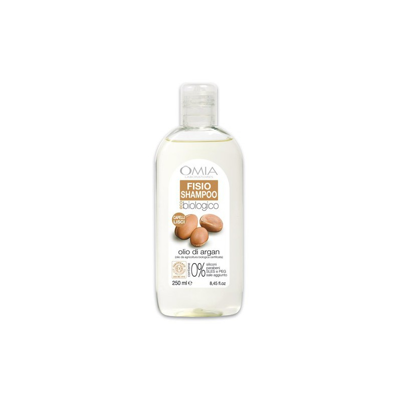 Shampoo olio di Argan 250 ml Omia