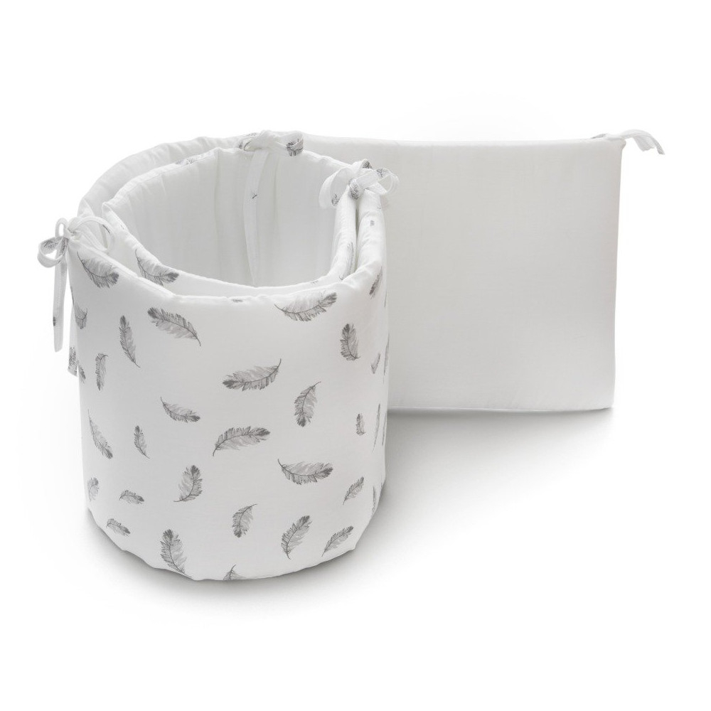 Paracolpi Baby Bumper Print Feather