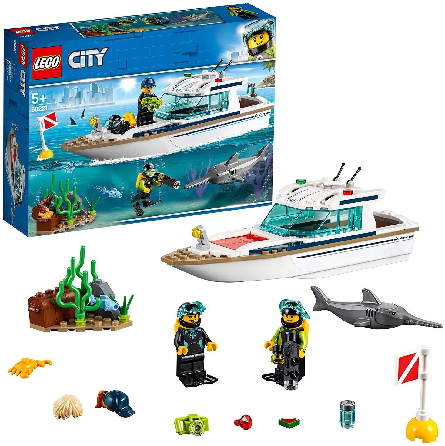 LEGO City- Yacht per immersioni 60221