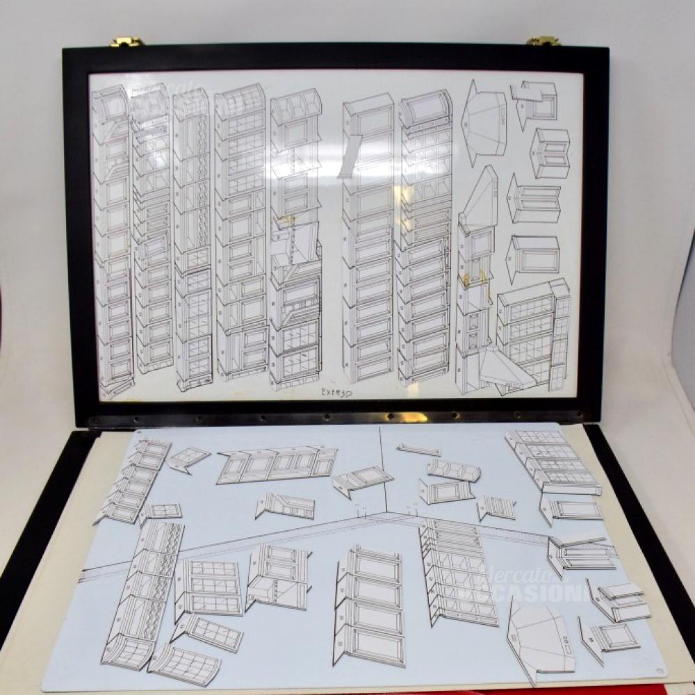 Sistema Brevettato Per Disegno Grafico Componibile Di Soggiorni Con Magnete