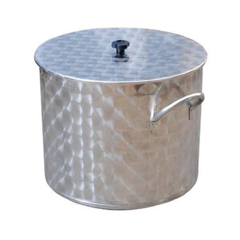 Caldaia in acciaio inox 18/10 Con coperchio LT 50/70/100/150/200