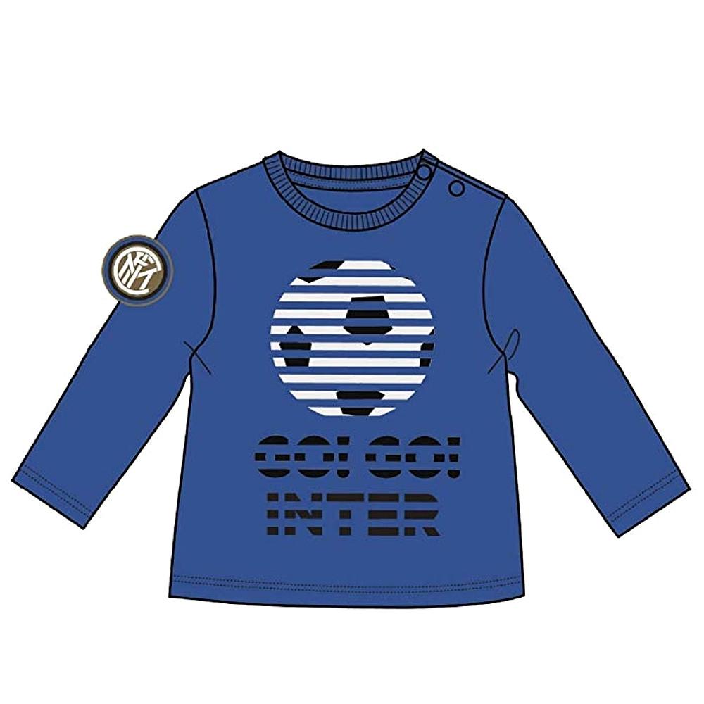 INTER maglietta manica lunga - Taglie 12/36 mesi - UFFICIALE