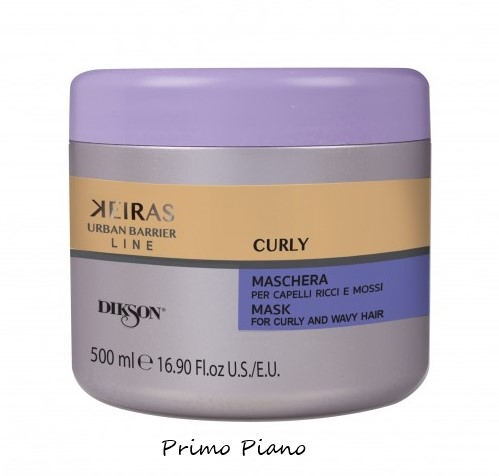 Keiras Urban Barrier Line Maschera Curly 500 ml