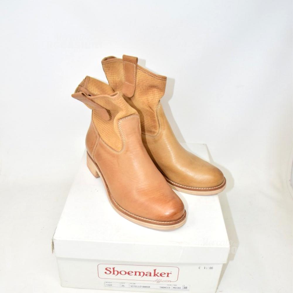Stivali Vera Pelle Shoesmaker Marroni N 38