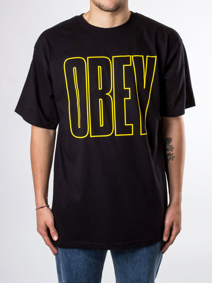 T-Shirt Obey Worldwide Basic Tee