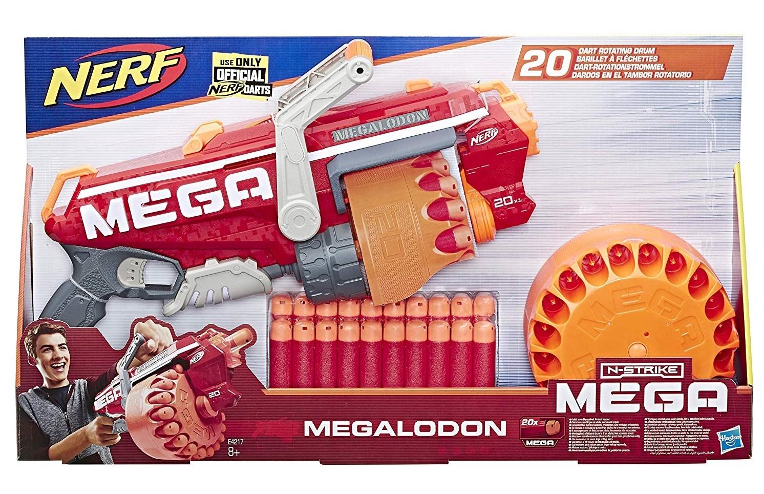 NERF MEGA MEGALODON E4217 HASBRO EUROPA