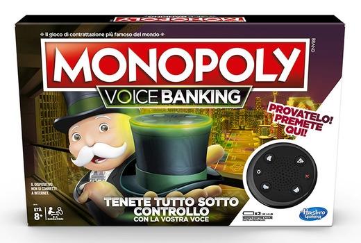 MONOPOLY VOICE BANKING E4816 HASBRO EUROPA