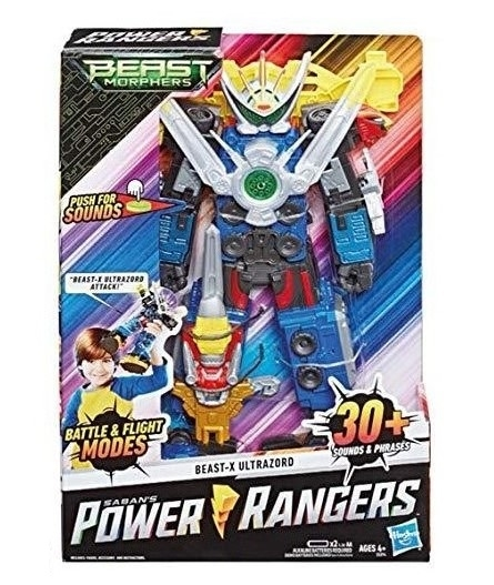POWER RANGER ULTRAZORD E5894 HASBRO EUROPA