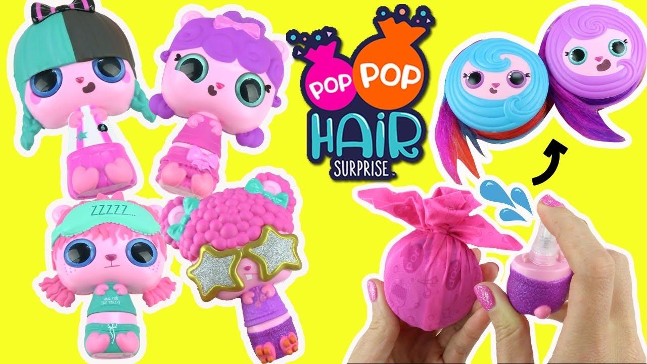 POP POP HAIR COLLECTION PPA01000 GIOCHI PREZIOSI