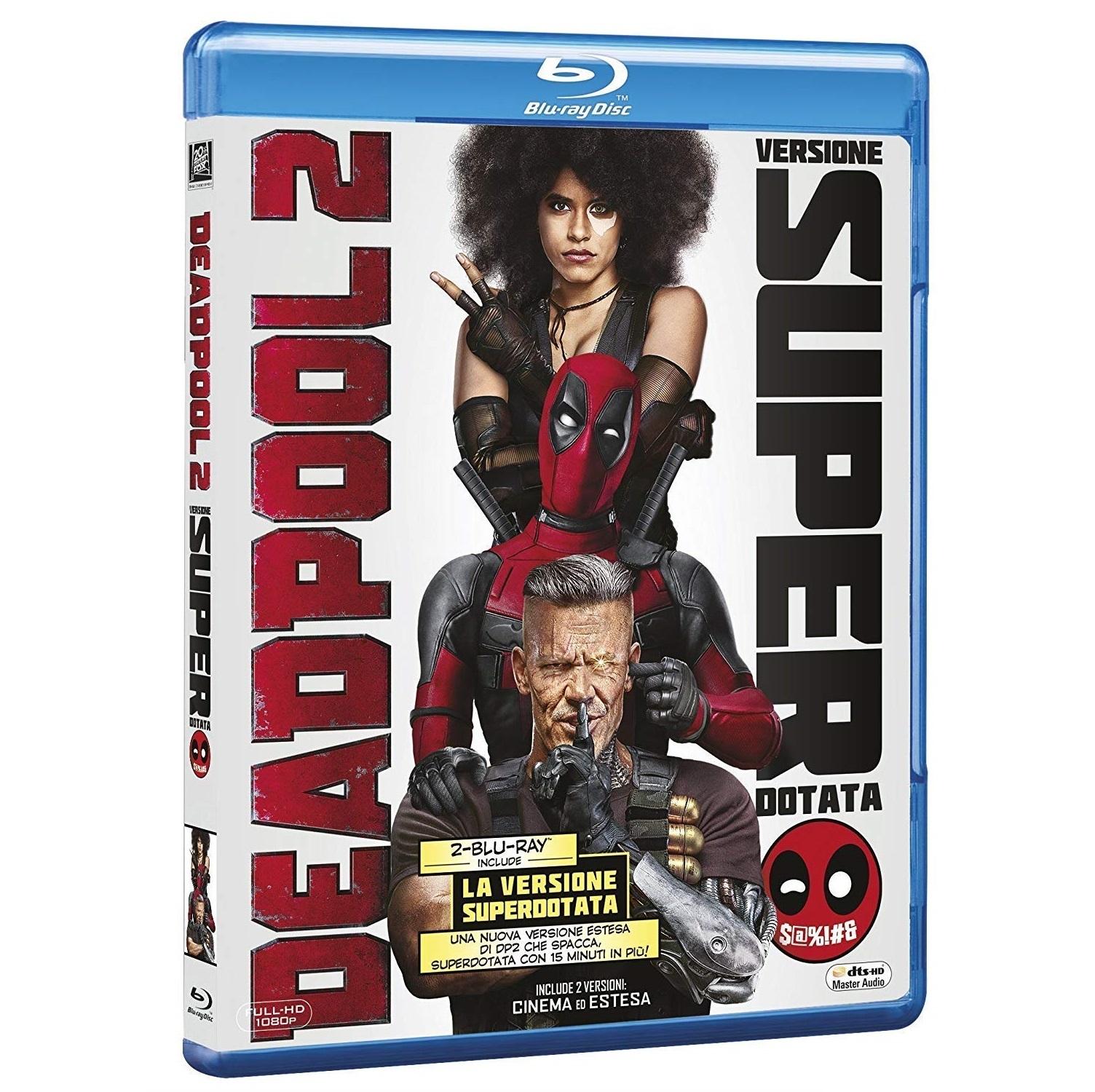 DEADPOOL 2 Edizione Super Dotata (2 Blu-Ray)