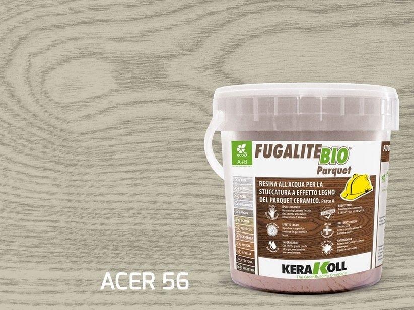 Kerakoll fugalite bio parquet stucco effetto legno acer kg3
