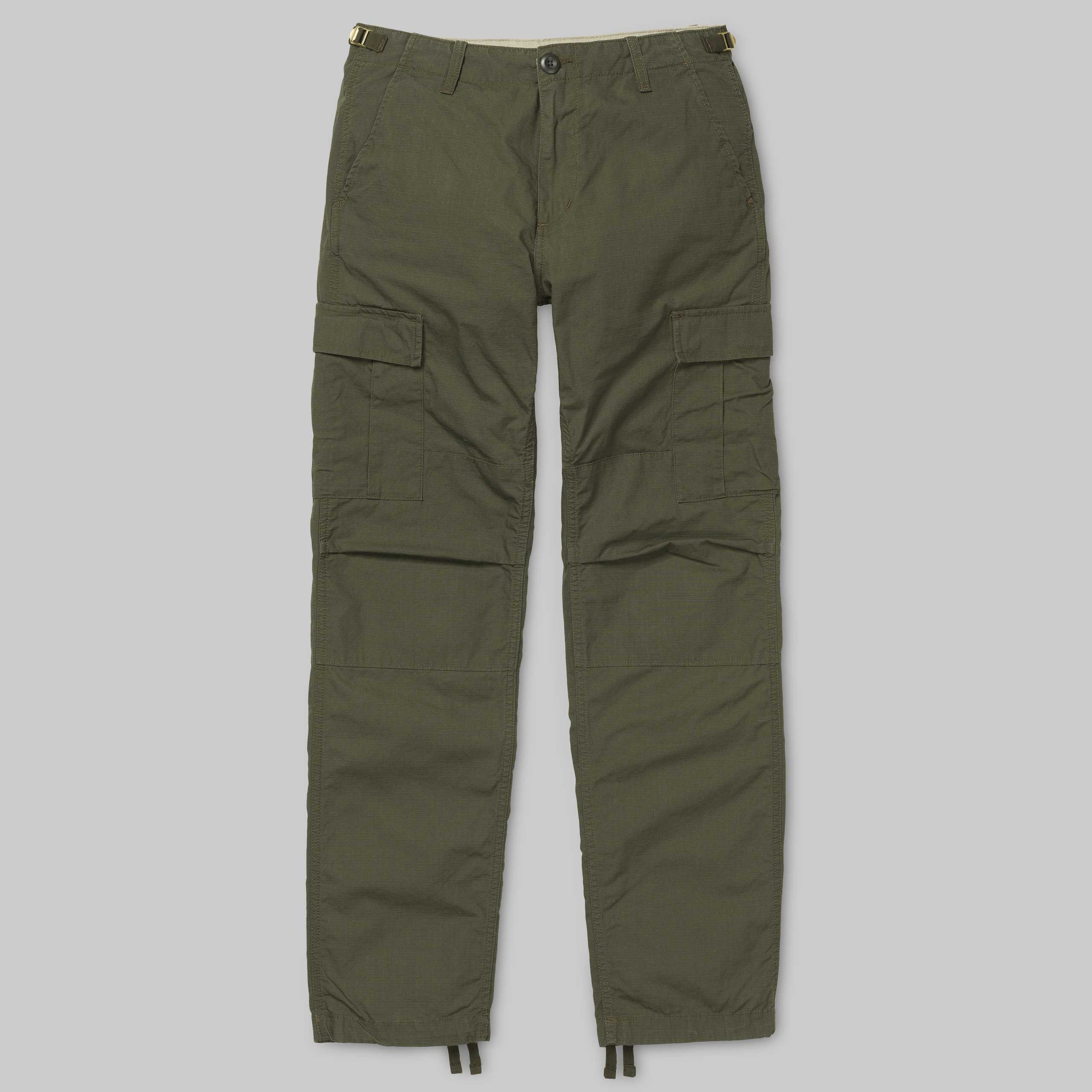 Pantaloni Carhartt Aviation (Cypress Rinsed)
