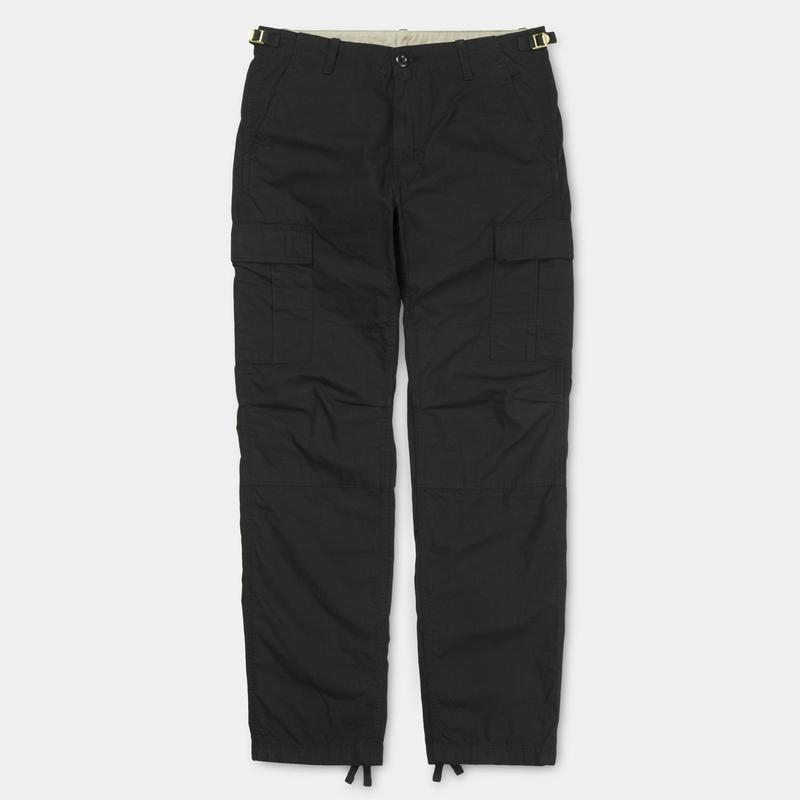 Pantaloni Carhartt Aviation (Black Rinsed)