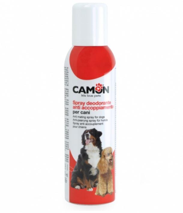 Spray deodorante anti accoppiamento cani