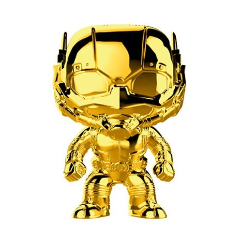 FUNKO POP! Marvel Studios: The First Ten Years Gold Chrome ANT-MAN