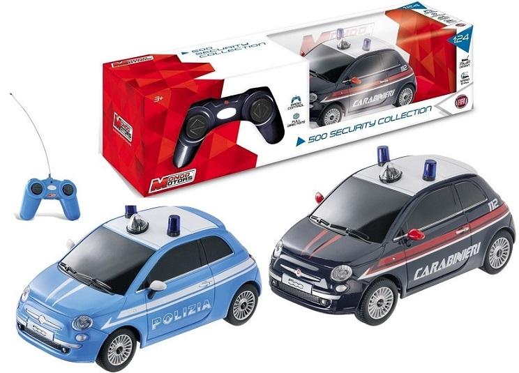 1:24 R/C AUTO NEW FIAT 500 SECURITY 63168 MONDO S.P.A.