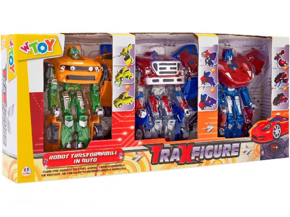 ROBOT TRAXFIGURE AUTO 1:32 3PZ 37047 GLOBO