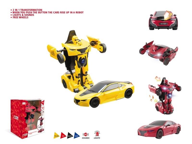 ROBOT TRANSFORMER 1:32 52010 MONDO S.P.A.