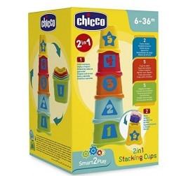CHICCO 2 IN 1 TAZZE IMPILABILI 09373 ARTSANA CHICCO
