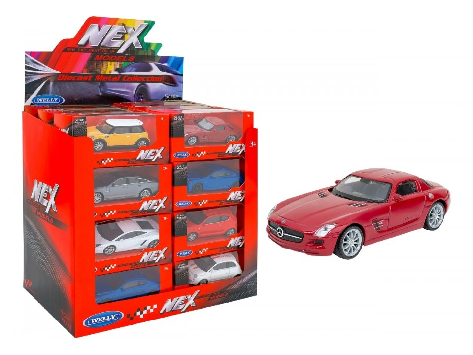1:43 WELLY AUTO DIE CAST C/LICENZA 39556 GLOBO