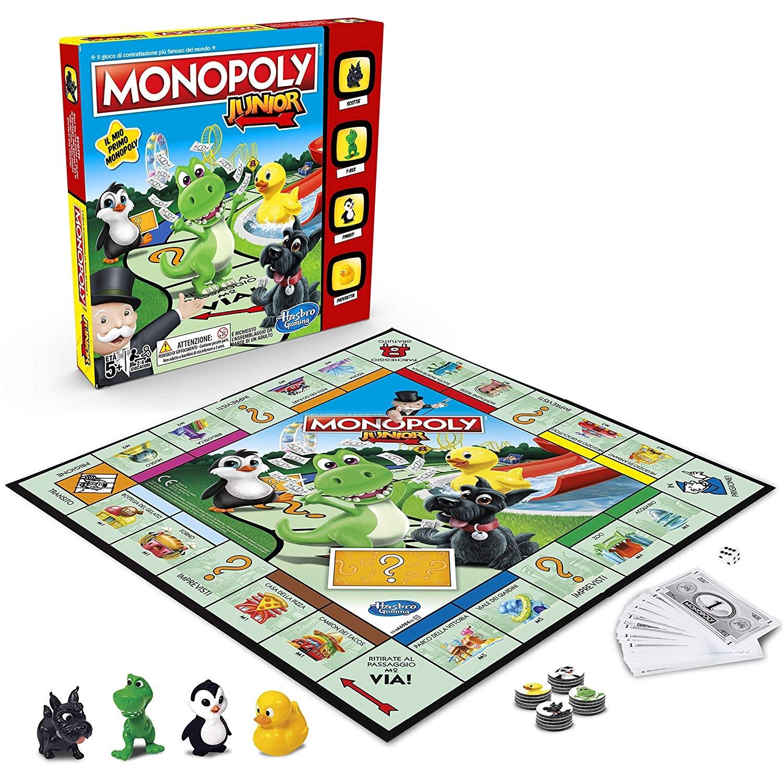 Hasbro Gaming- Monopoly Junior, Versione 2019/2018
