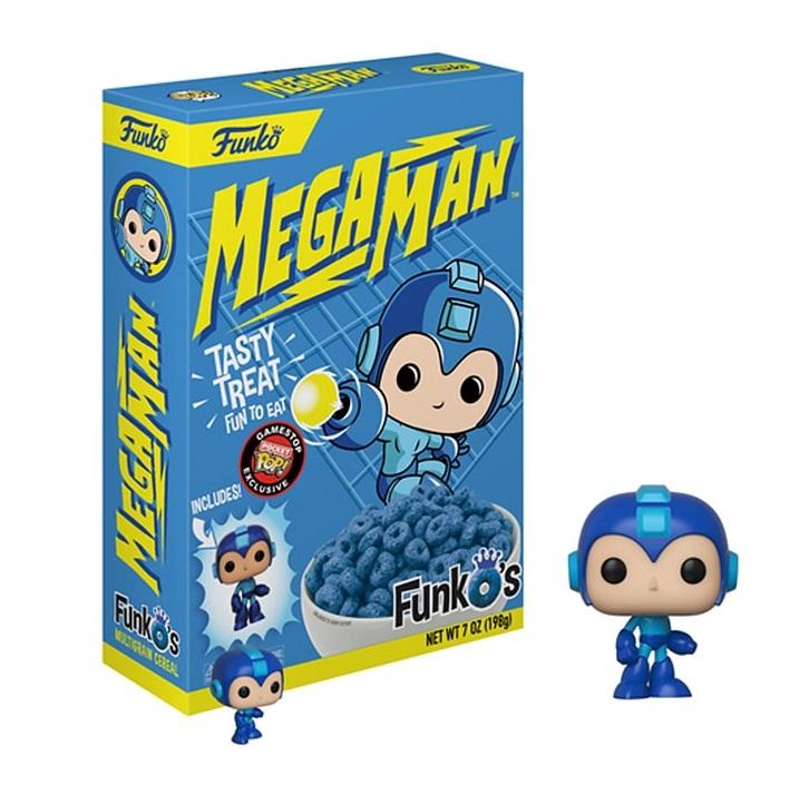 Funko's Cereal: Megaman