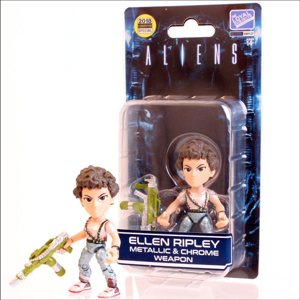 The Loyal Subject: Aliens (Lt. Ellen Ripley) Metallic & Chrome Weapon LIMITED