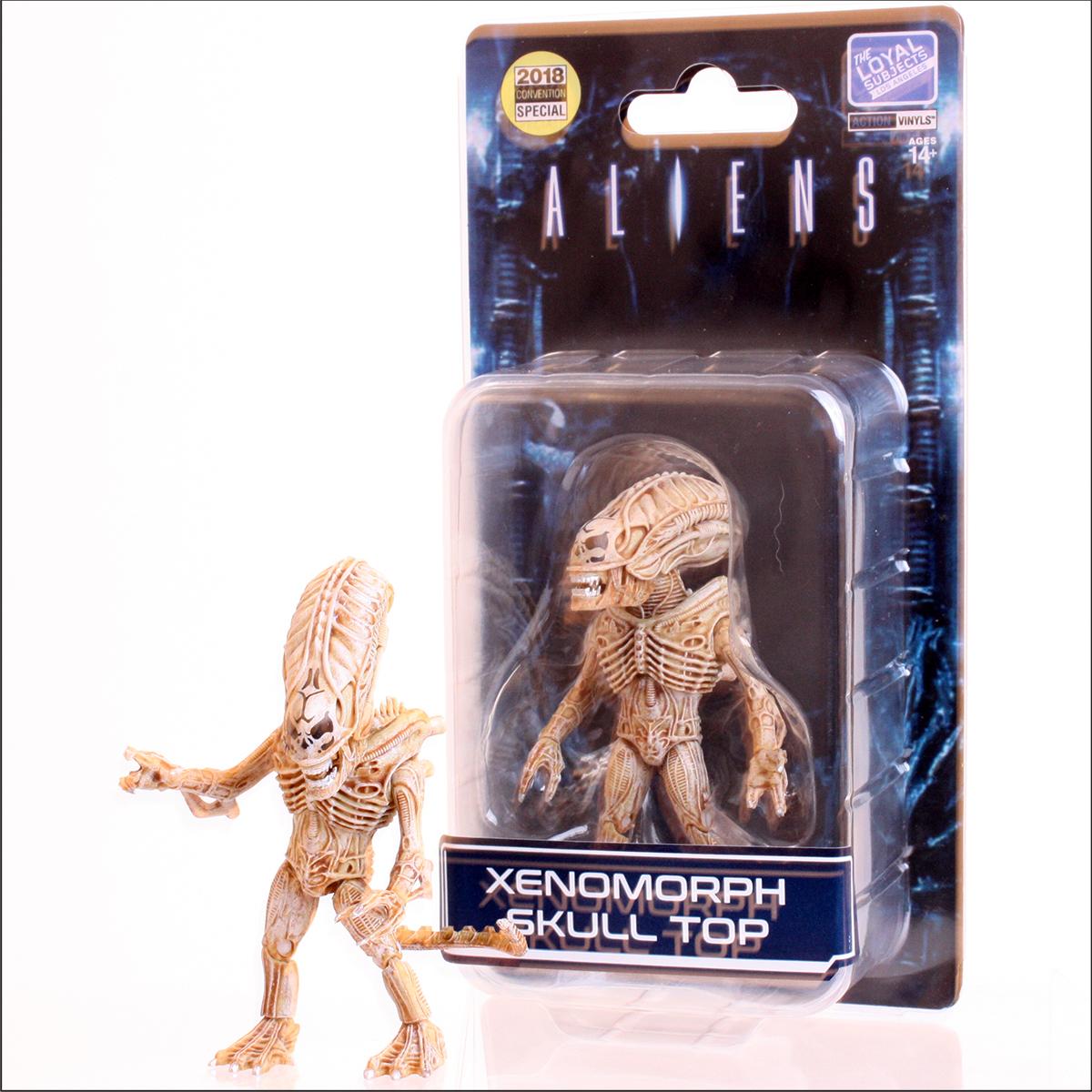 The Loyal Subject: Aliens Xenomorph Skull Top (Exoskeleton Alien Warrior) LIMITED