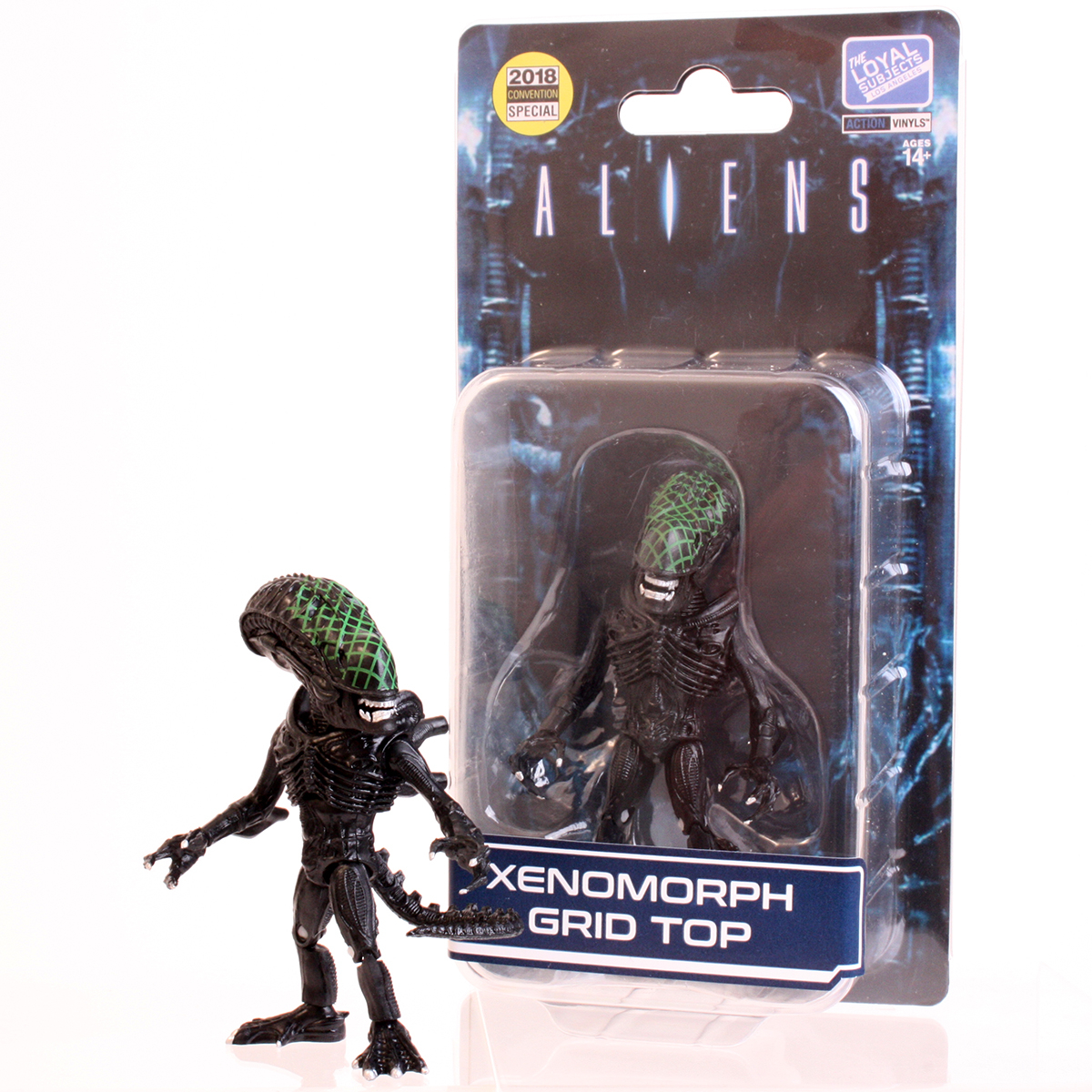 The Loyal Subject: Aliens Xenemorph Grid Top (Seared head Alien Warrior) LIMITED