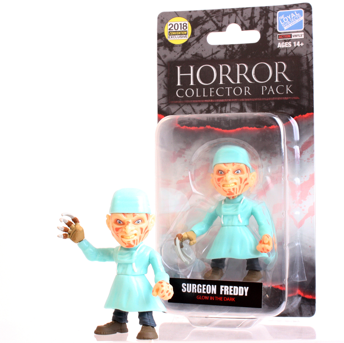 The Loyal Subject: Freddy Kreuger (GID Surgeon Edition) LIMITED Glow in the Dark