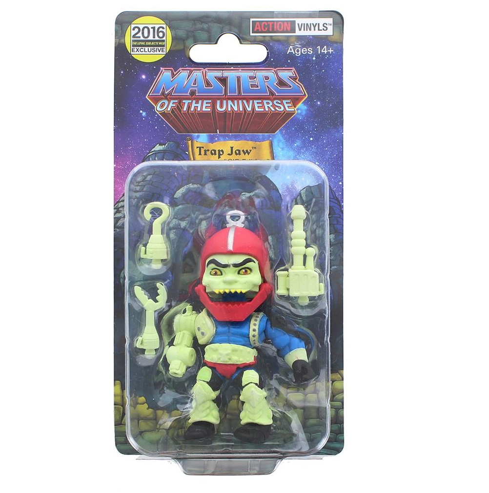 Masters of the Universe (the Loyal Subjects) TRAP JAW GID Glow in the Dark