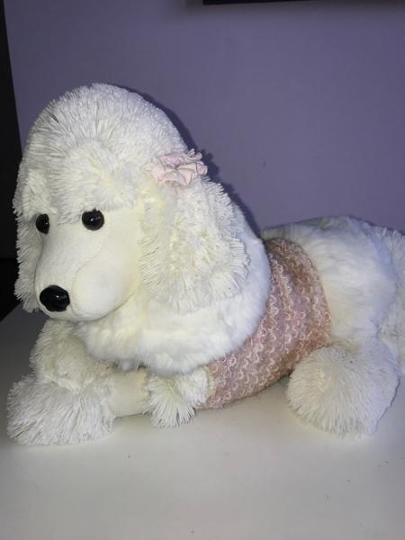 Cappottino per Chihuahua rosa e bianco Trilly tutti Brilli