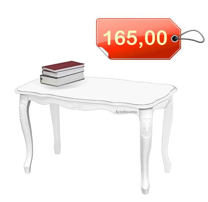 Tavolino laccato classico rettangolare
