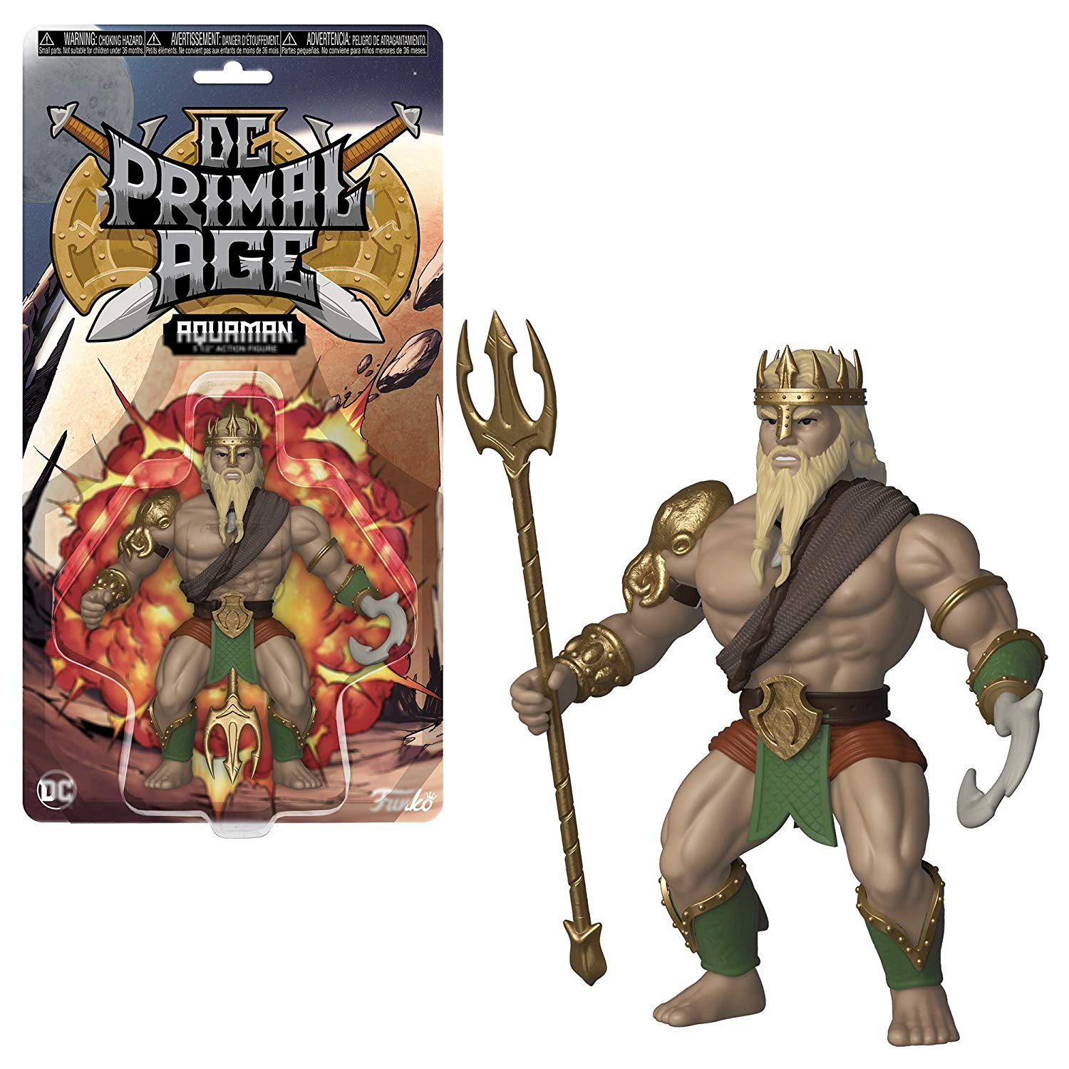 Savage World DC Primal Age: AQUAMAN
