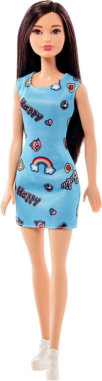 Barbie Trendy con abito stampato colori assortiti