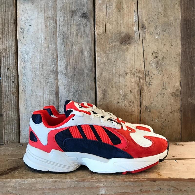 Scarpa Adidas Yung 1 OG Rossa Blu e Bianca