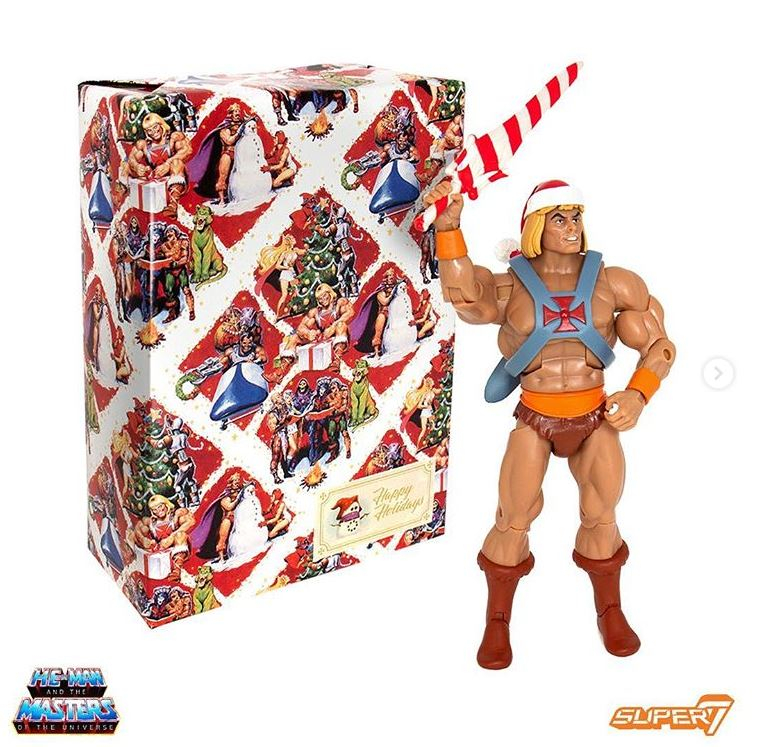 Masters of the Universe Classics Club Grayskull HOLIDAY HE-MAN