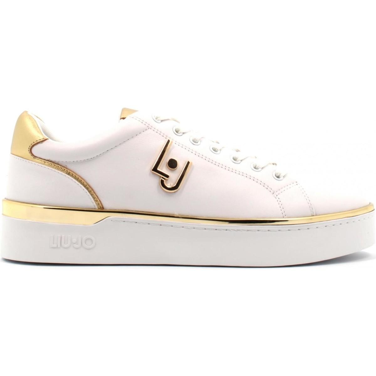 rif112ab1 scarpe donna liu jo sneaker mod. silvia in pelle
