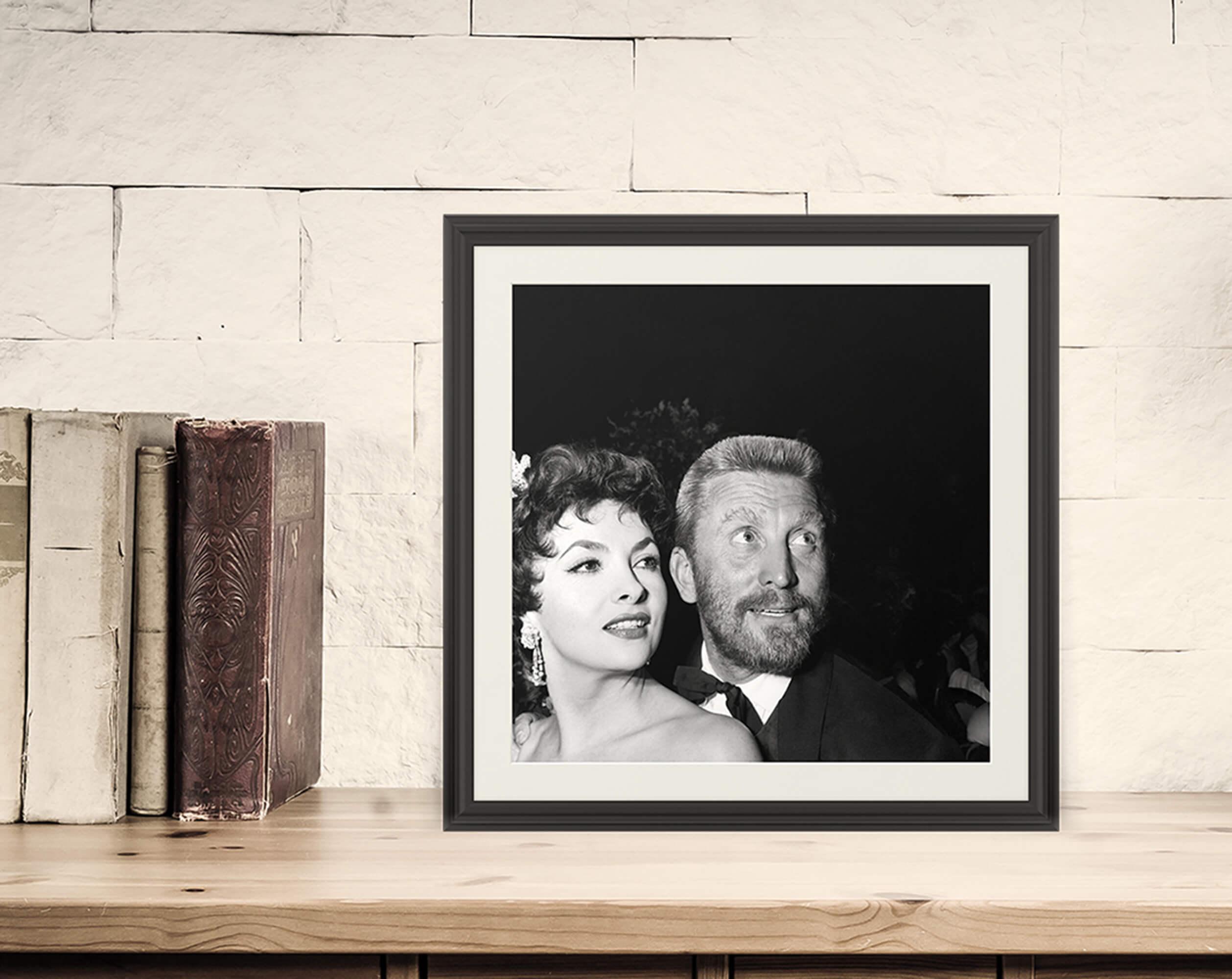 Gina Lollobrigida e Kirk Douglas, 1955