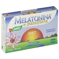 MELATONINA + PASSIFLORA DIET 30 COMPRESSE